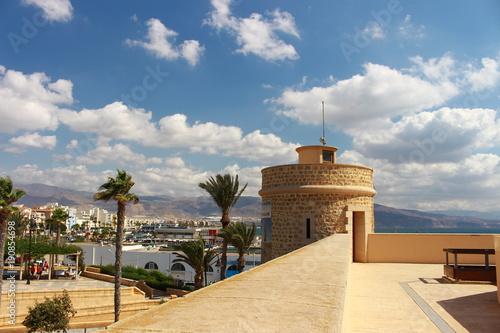 Castillo De Santa Ana Roquetas De Mar Almeria Espana Buy This