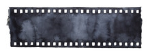 Painted Grunge Film Strip. Bla...