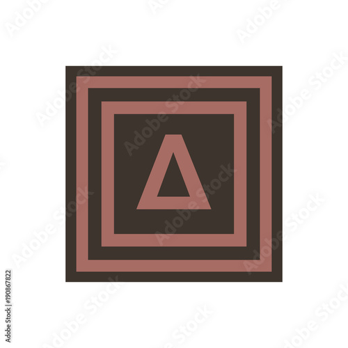 Vector Symbol Of Letter Delta From The Greek Alphabet Buy This