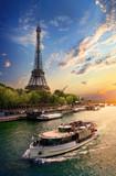 Fototapeta Fototapety Paryż - On bank of Seine