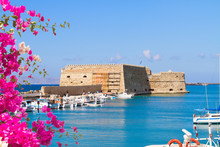 Heraklion Harbour, Crete, Greece