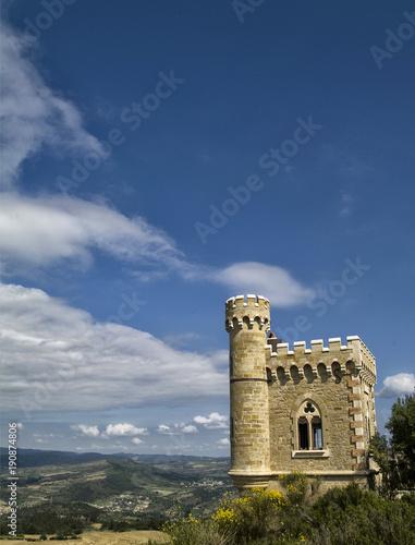 Fotografie, Obraz  Tour Magdala à Rennes-le-Château, Aude, France