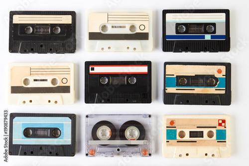 Foto op Plexiglas Retro Vintage audio cassette tape