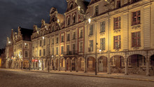 Facades Of The Houses Of The T...