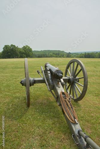 Fotografie, Obraz  American civil war cannon