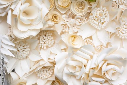Obraz kwiaty   tlo-kwiat-papieru-origami