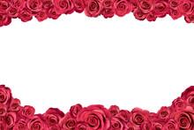 Irregular Frame Made Of Pink R...