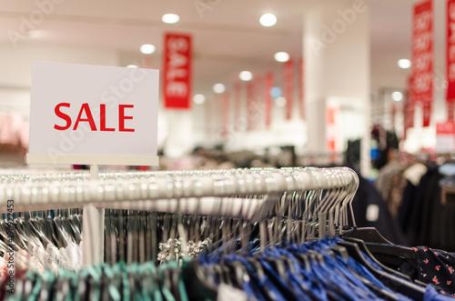 Fotografía  sale of clothing