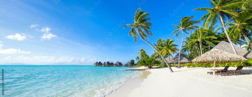 Fototapety, obrazy: Sommer, Sonne, Strand und Meer im Urlaub