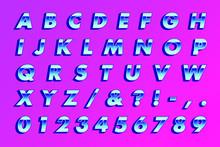 RETRO 80'S TYPE BOLD OBLIQUE