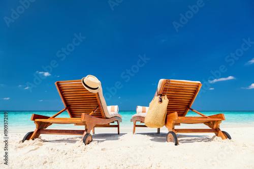 Foto auf Gartenposter Strand Tropical beach