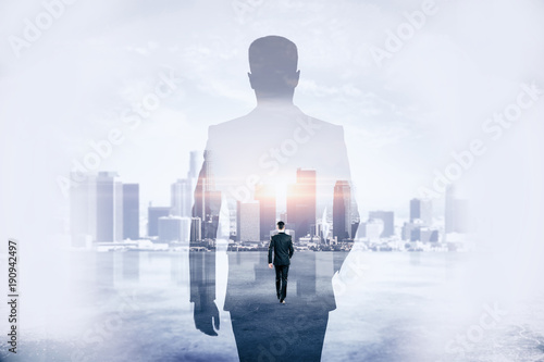 Fotografie, Obraz  Success and development concept