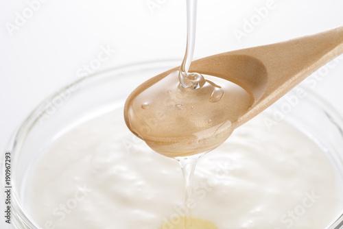 Tuinposter Kruiderij オリゴ糖をかけたヨーグルト