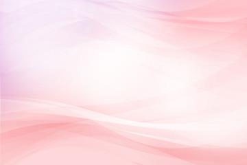 ピンクのウェーブ 抽象的な背景