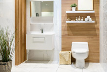 Modern Spacious Bathroom With ...