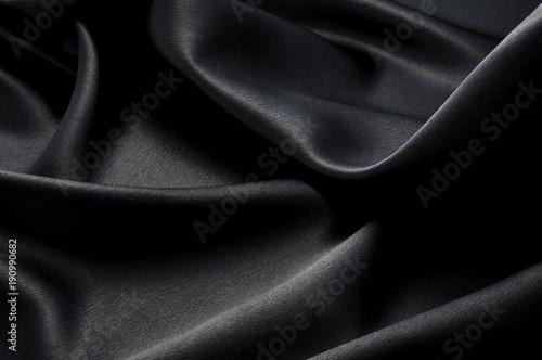Fotografie, Obraz  黒色のサテン