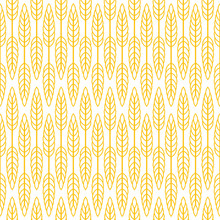 Wheat Seamless Pattern