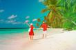 happy loving couple enjoy beach