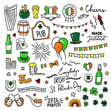 Hand Drawn St. Patrick's Day C...