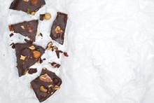 Dark Chocolate Bark With Mixed...