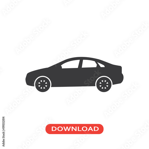 Sedan Car Model Icon