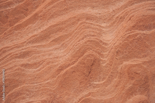 Photo  Red Utah sand