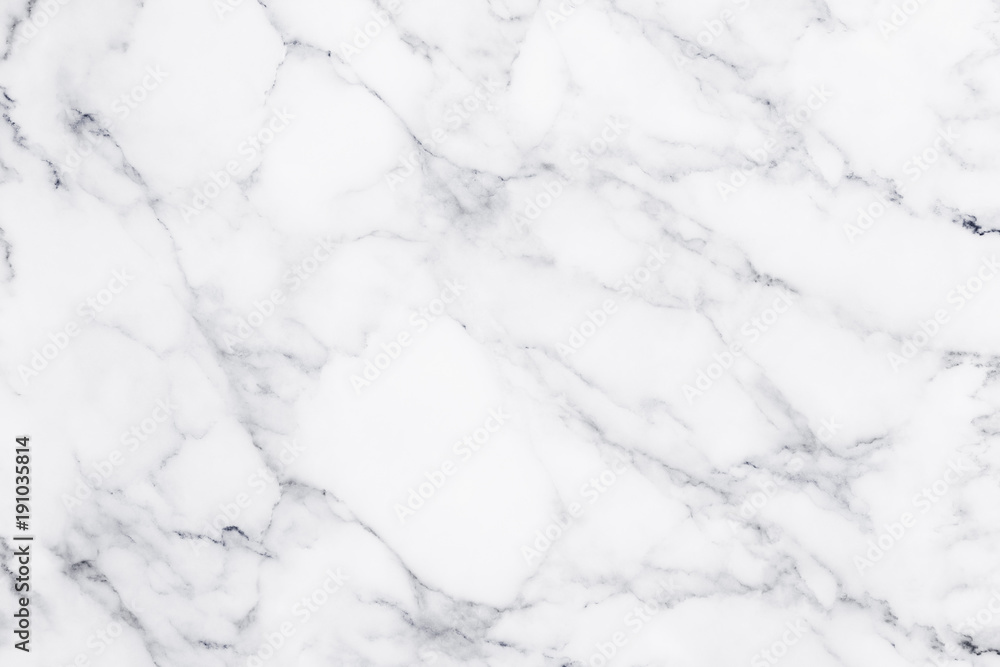 Fototapety, obrazy: White marble texture and background.