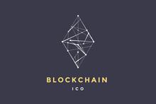 Template Logo For Blockchain T...