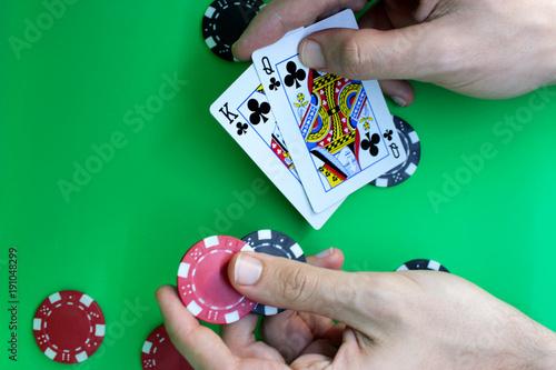 Poker set плакат