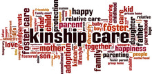 Kinship Care Word Cloud