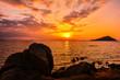Japan Fukuoka Itoshima Hukunoura sunset