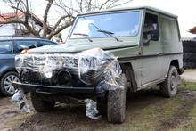 Geländewagen Oldtimer Restaurierung