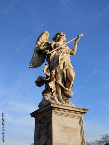 Zdjęcie XXL Statua Saint Angelo Bridge