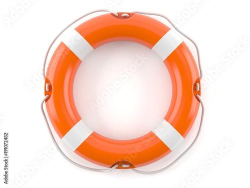 Life buoy Canvas Print