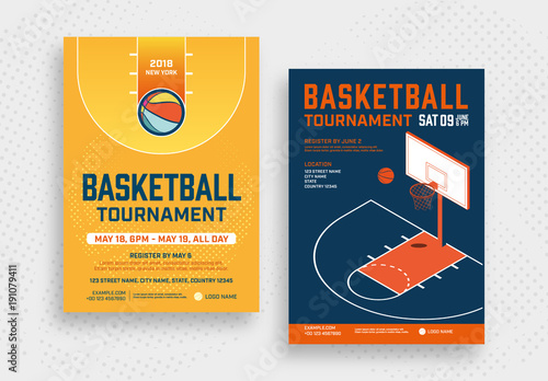 basketball tournament poster layouts buy this stock template and
