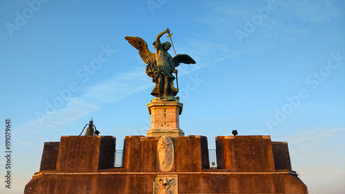 Zdjęcie XXL Angelo, Castel Sant'Angelo