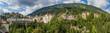 Panoramaansicht des Kurortes Bad Gastein im Gasteinertal