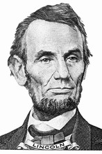 The Face Of Lincoln The Dollar...