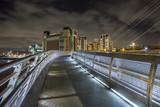 Gateshead Millennium bridge looking towards The Baltic Arts Centre