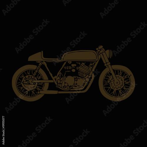 Fotografie, Obraz  Custom Scrambler Motorcycle