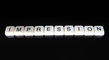 Impression Text Word Title Cap...