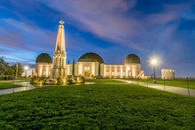 Griffith Observatory At Blue H...