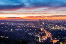 Sunrise From The Hollywood Bowl Overlook
