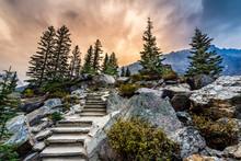 Rockpile Trail At Dawn