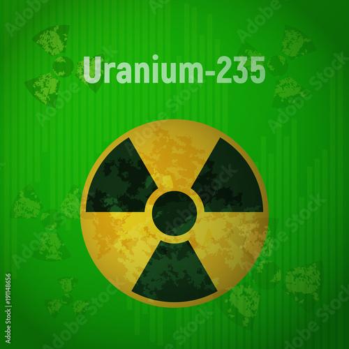 Fotografia  Sign of radiation