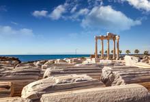 Ruins Of Apollo Temple In Side...