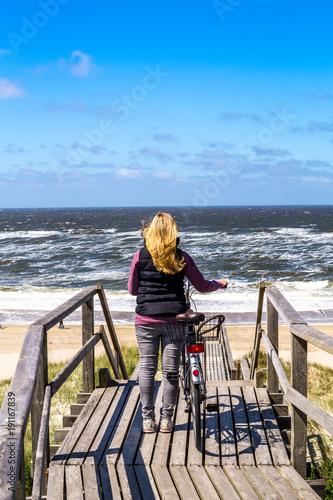 Spoed Foto op Canvas Noordzee Nordsee Weg zum Meer