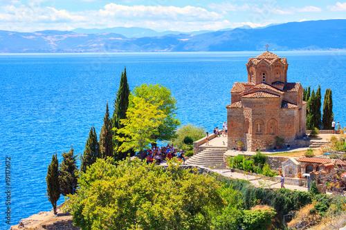 Papiers peints Con. ancienne Église Saint-Jean de Kaneo, Église Saint-Jean de Kaneo, Ohrid, Macédoine