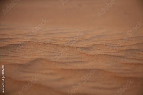 Photo  Sand detail of a desert near Dubai