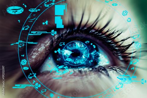 Fotografie, Obraz regard futuriste